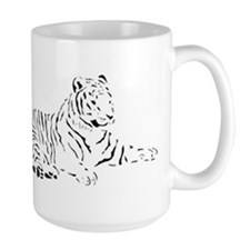 tiger drawing Mug