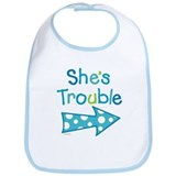 Cute Twin Bib