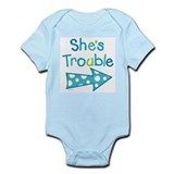 Twin girls Onesie