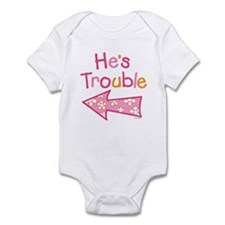 Cute Twin Infant Bodysuit