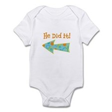 HeDidIt Infant Bodysuit