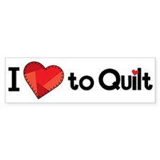 Love to Quilt Stickers