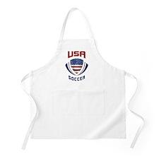 Soccer Crest USA Apron