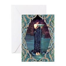 Circe Invidiosa Greeting Card