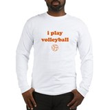 Cute Volley ball Long Sleeve T-Shirt
