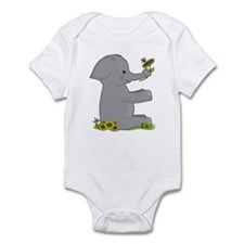 Animal Alphabet Elephant Infant Bodysuit