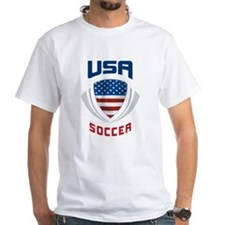Soccer Crest USA blue Shirt