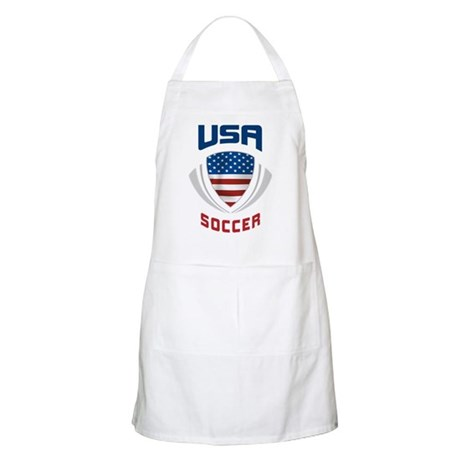 Soccer Crest USA blue Apron