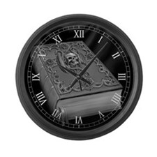 Liber Tenebrarum Large Wall Clock