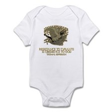 Resistance to Tyrants Infant Bodysuit