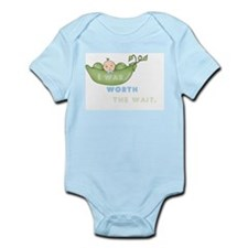 Worth the Wait Infant Bodysuit - Boy