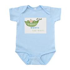 Worth The Wait Short Sleeve Infant - Boy Body Suit