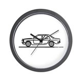 Mercedes 200 230 240 300 Type 123 Wall Clock