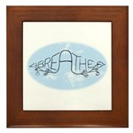 Breathe Framed Tile