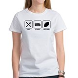Eat, Sleep, Fantasy Football Tee-Shirt