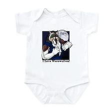 I love werewolves II Infant Bodysuit
