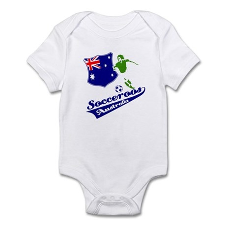 Australian soccer design Infant Bodysuit