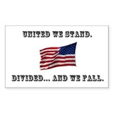 """United We Stand"" Decal"