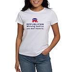 Republican Working Hard Women's T-Shirt