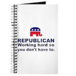 Republican Working Hard Journal