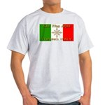 Ski The Alps Torino Italy Ash Grey T-Shirt