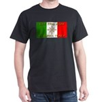 Ski The Alps Torino Italy Black T-Shirt