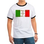 Ski The Alps Torino Italy Ringer T