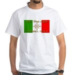 Ski The Alps Torino Italy White T-Shirt