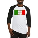 Ski The Alps Torino Italy Baseball Jersey