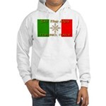 Ski The Alps Torino Italy Hooded Sweatshirt