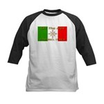 Ski The Alps Torino Italy Kids Baseball Jersey