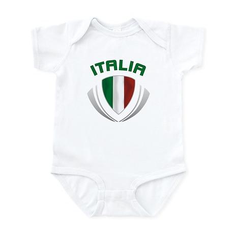 Soccer Crest ITALIA Infant Bodysuit