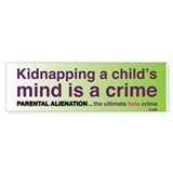 Parental Alienation Bumpersticker