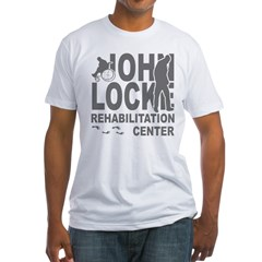 John Locke Rehab Center Fitted T-Shirt