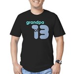 Dad Father Grandfather Papa G Men's Fitted T-Shirt