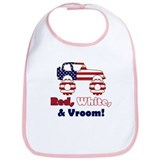 Red, White & Vroom! - Bib