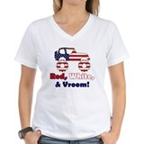 Red, White &amp; Vroom! - Shirt