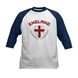 Soccer Crest ENGLAND red / grey Tee