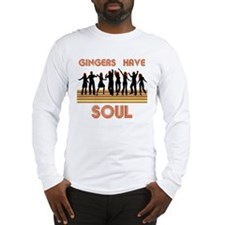 Gingers Have Soul Long Sleeve T-Shirt