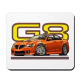 Orange G8 Mousepad