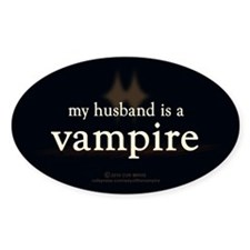 Husband Vampire Decal