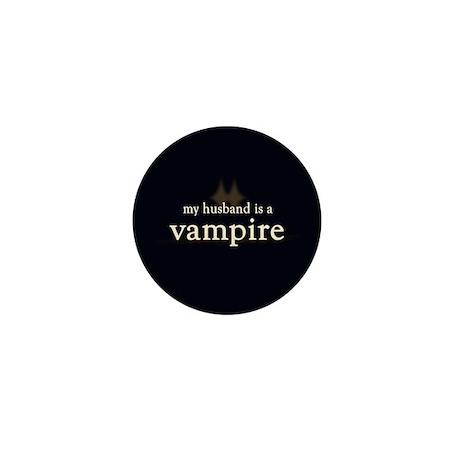 Husband Vampire Mini Button (10 pack)