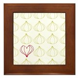 Garlic, please. Framed Tile