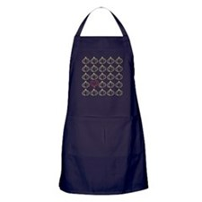 Garlic, please. Apron (dark)