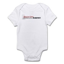 Back Off!-My Uncle is a Marin Infant Bodysuit