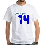 Dad Father Grandfather Papa G White T-Shirt