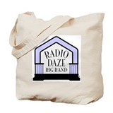 Radio Daze Tote Bag