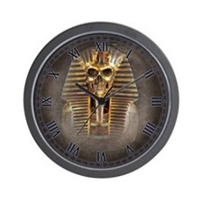 Accursed Pharaoh Wall Clock