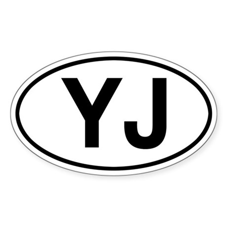 YJ Jeep Wrangler Sticker
