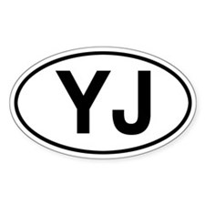 YJ Jeep Wrangler Decal